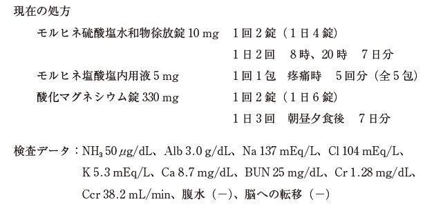 103回薬剤師試験 薬学実践問題 問302-302